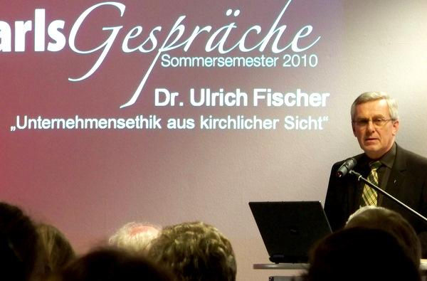 Karlsgespräch Dr. Ulrich Fischer