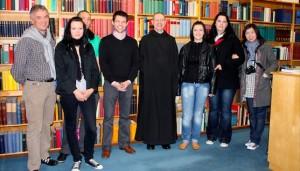 Exkursion Master Kurs Leadership der Karlshochschule, Maria Laach