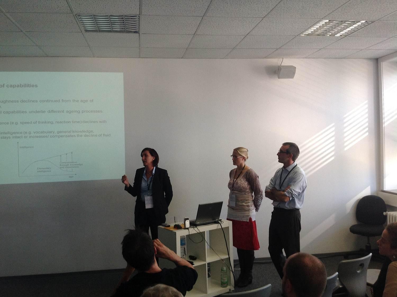 From left: Daniela Eberhardt, Cordula Braedel-Kühner & Francesco Marcaletti