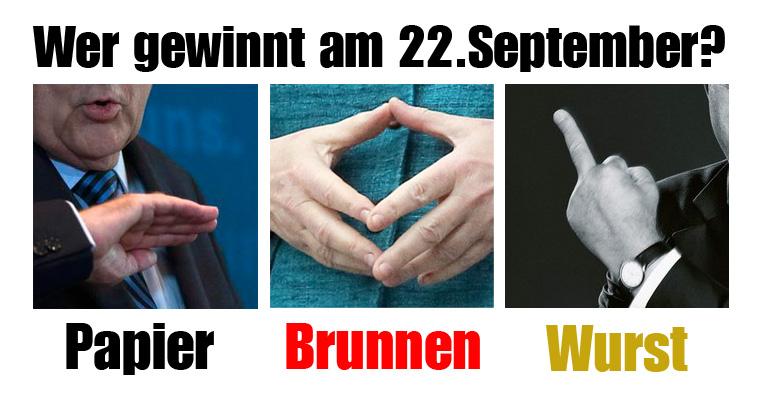 papierbrunnenwurst