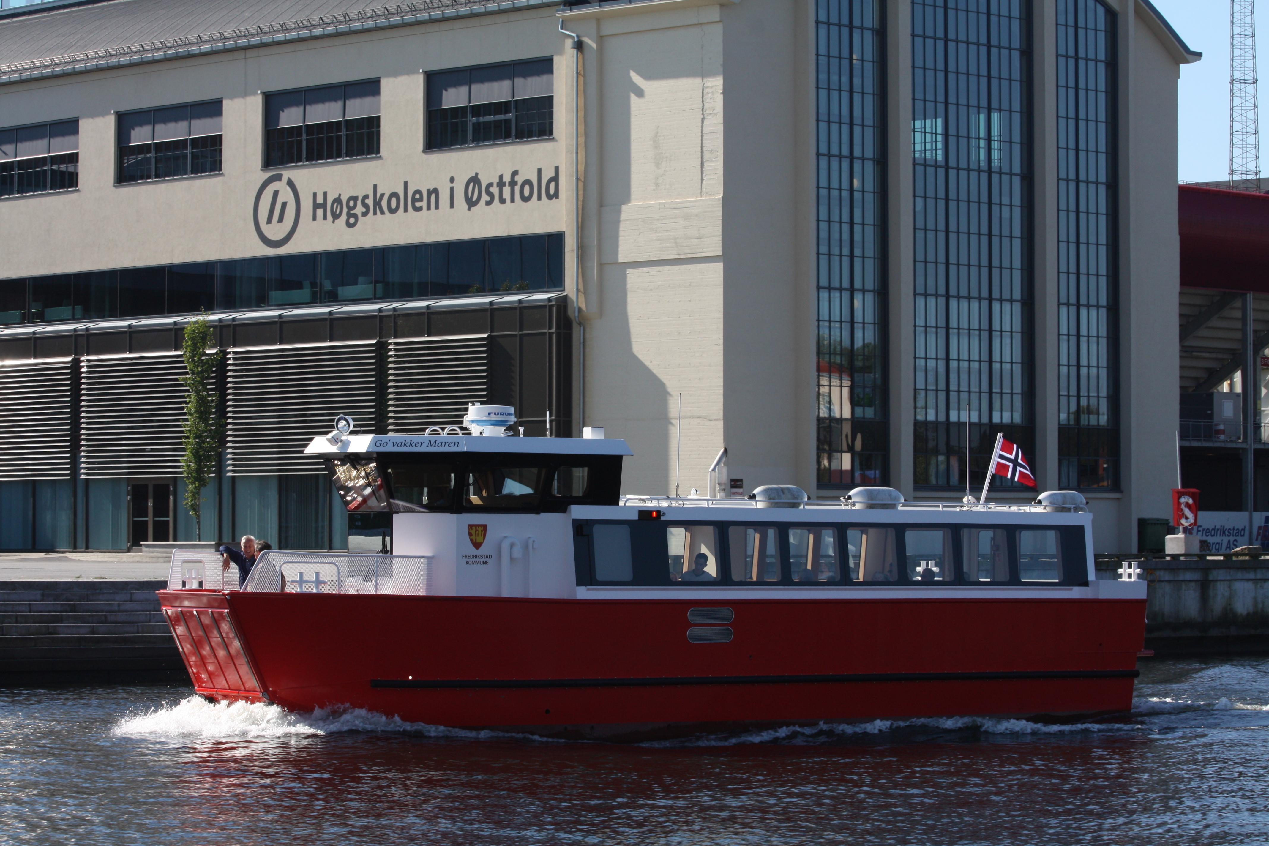 "Linien""bus"" in Fredrikstad"