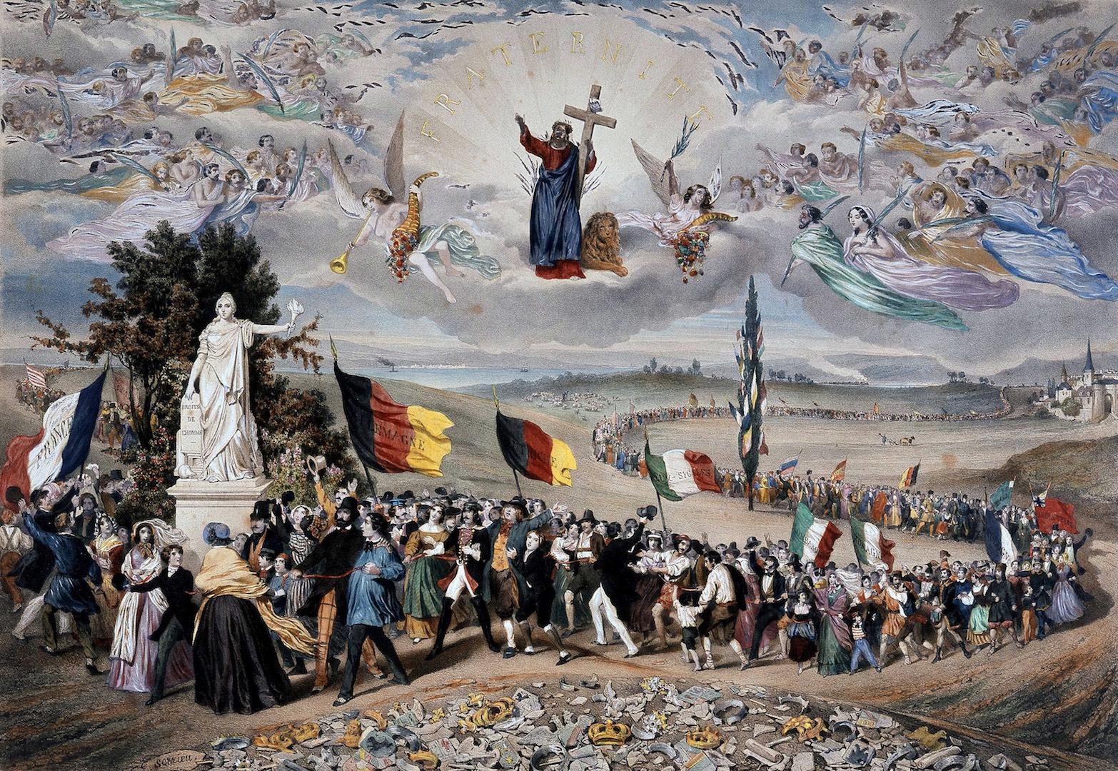 la république universelle démocratique et sociale