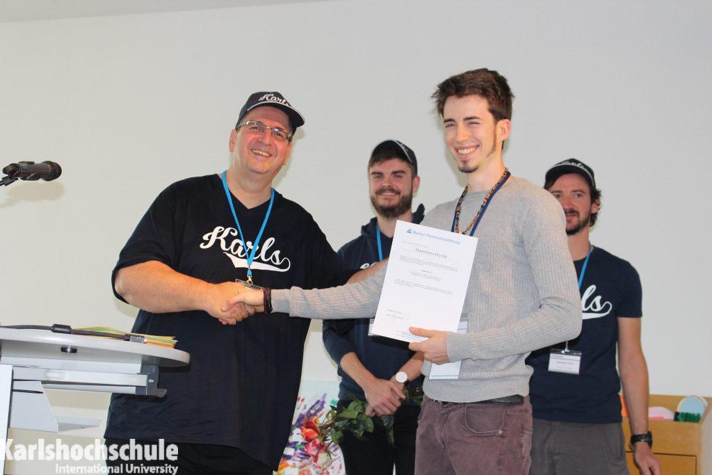 Karlshochschule scholarship Werner-Stober-Stiftung 2018