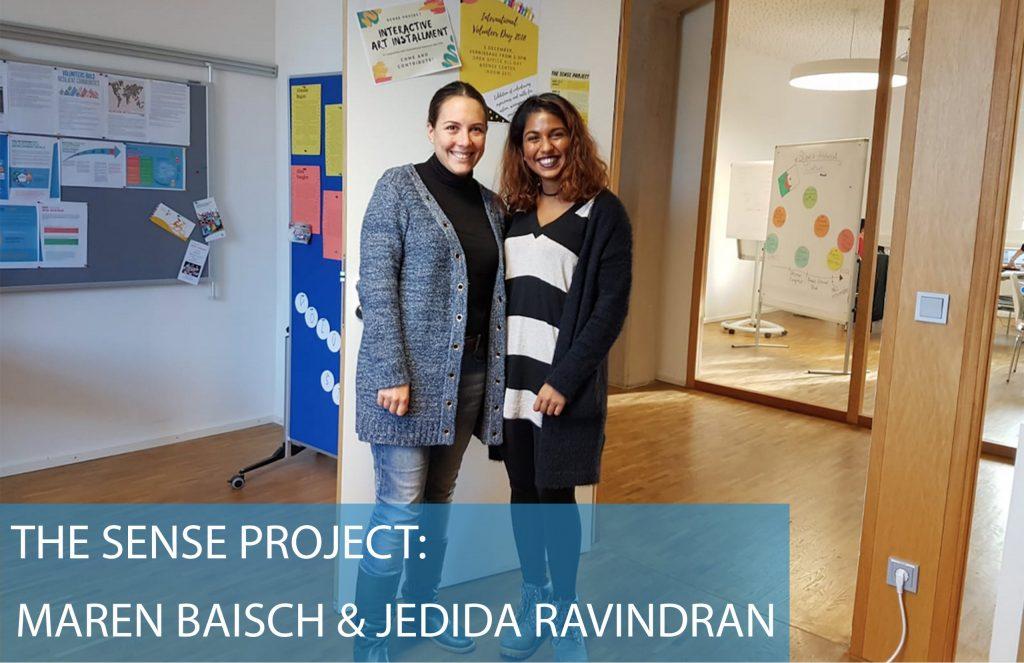 SENSE project Karlshochschule Maren Baisch Jedida Ravindran