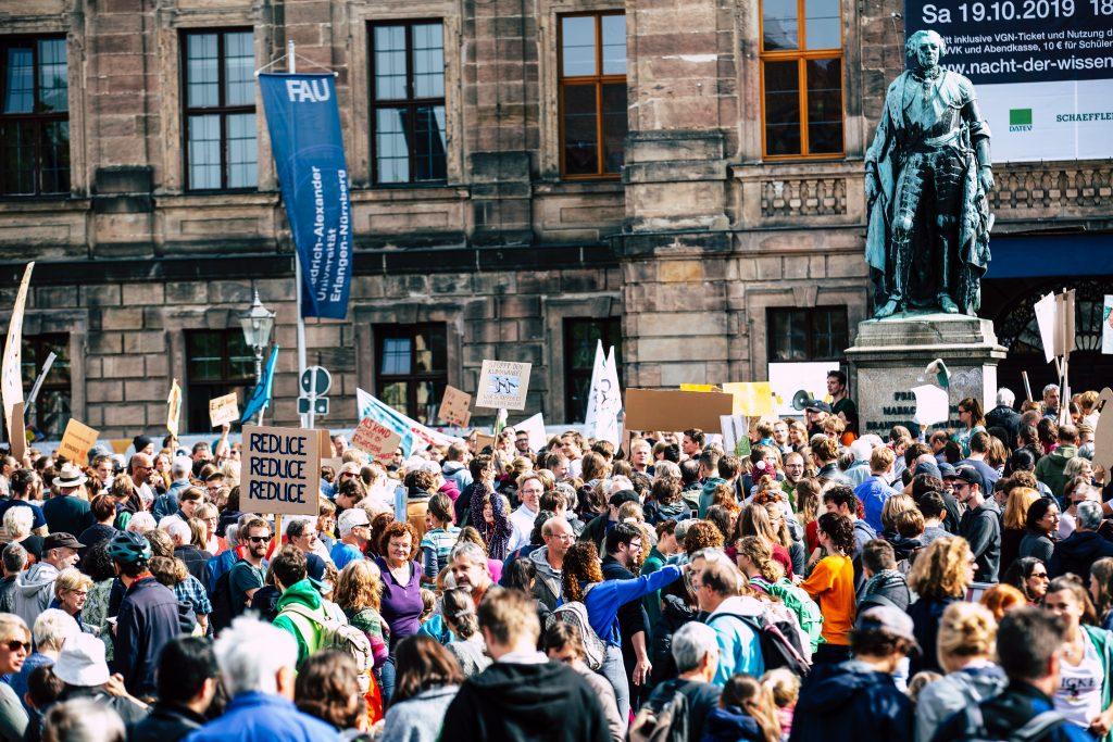 demonstration sign democracy
