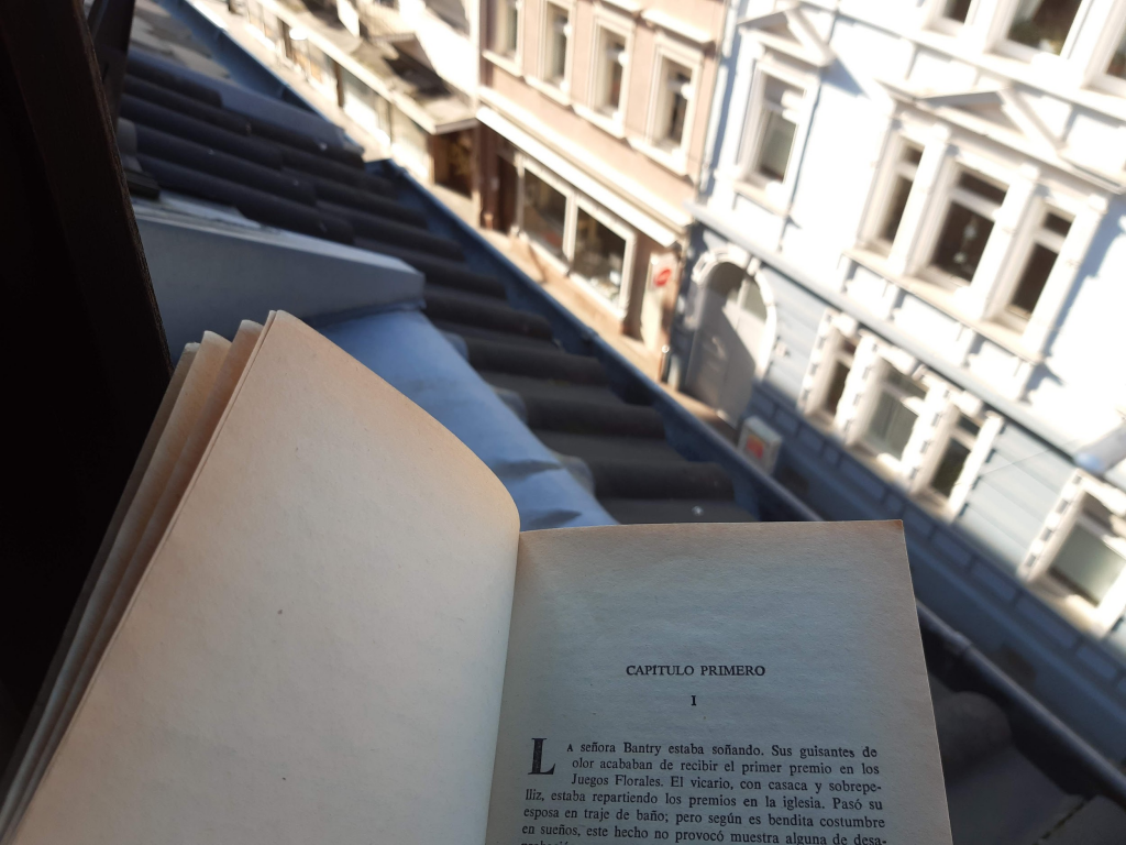 Reading a book - Regular afternoon while social distancing