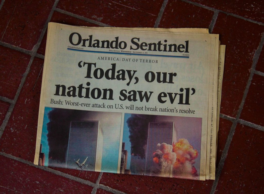 US article about 9/11