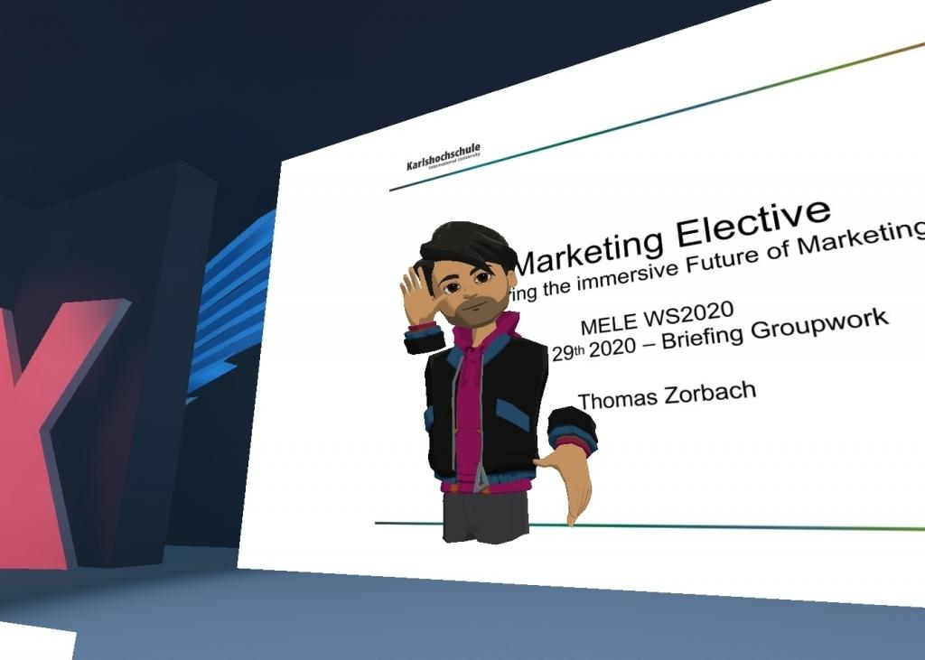 Alter VR-ego of Thomas Zorrbach